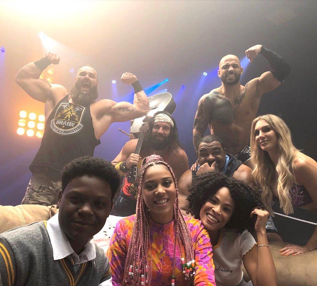 Sho Madjozi Meet WWE Wrestlers (Photo) - Latest News In