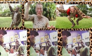 Meet the leopard man who transformed himself with 1,000